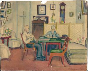 1929-Karol-Hojer-Anna-Rittmann-Moskwa-watercolour